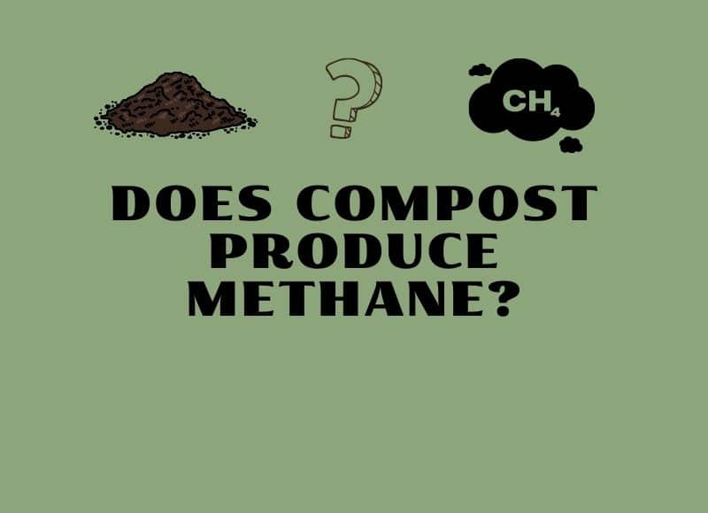 does compost produce methane
