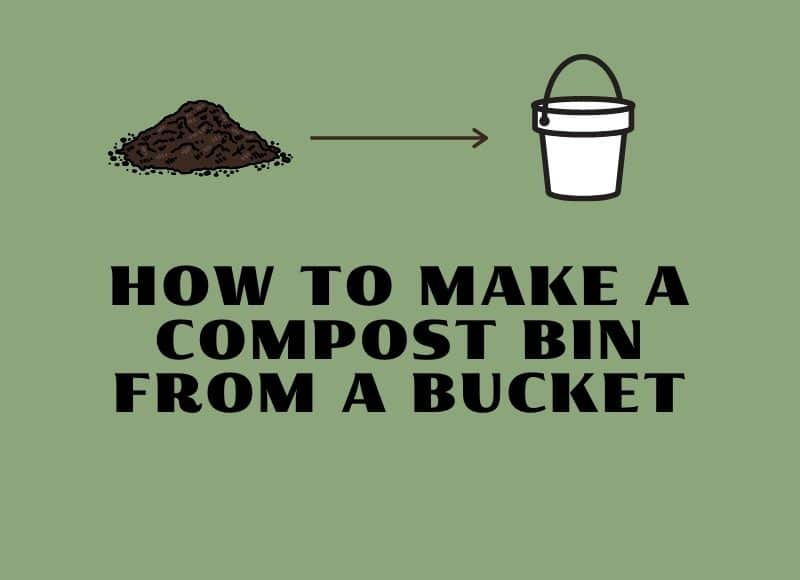 how to make a compost bin from a bucket