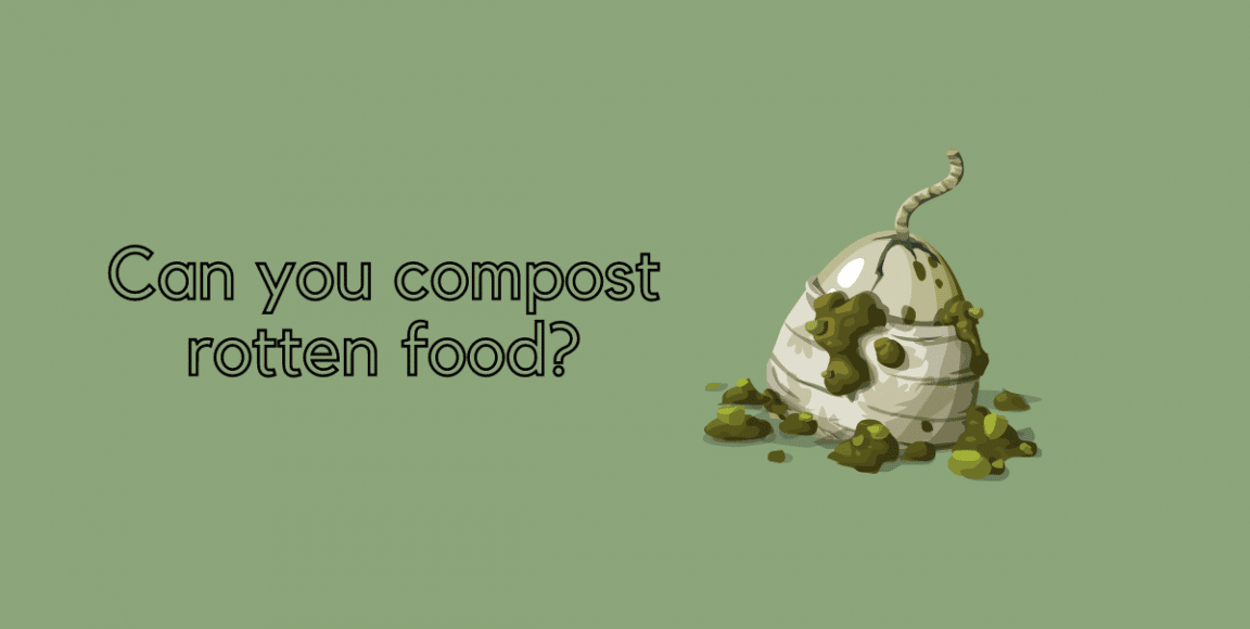 can you compost rotten food